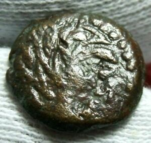 ROMAN OR GREEK OR JUDEA WITH ANIMAL COIN TO IDENTIFY