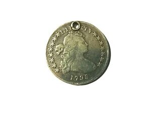 1795 DRAPED BUST SILVER DOLLAR  $1 COIN SMALL EAGLE