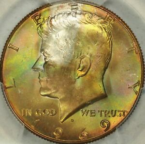 Click now to see the BUY IT NOW Price! 1969 D KENNEDY HALF DOLLAR PCGS MS67  TOP POP    4/0