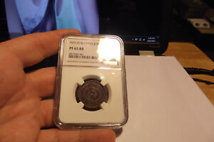 Click now to see the BUY IT NOW Price! 1955 JORDAN 5 FILS NGC PROOF 63 RED BROWN V.I.P.
