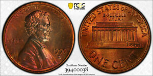Click now to see the BUY IT NOW Price! 1990 D LINCOLN MEMORIAL CENT 1C PCGS MS 64 RB UNC RED BROWN   MINT ERROR  038