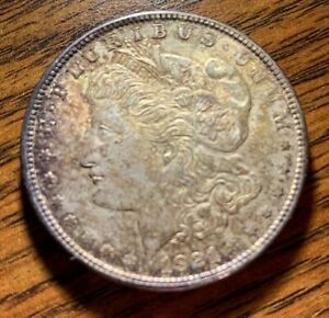 1921 MORGAN SILVER DOLLAR CIRCULATED BUT UNMARKED