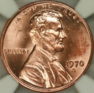 Click now to see the BUY IT NOW Price! 1970 S DOUBLED DIE OBVERSE LINCOLN CENT NGC MS64RD