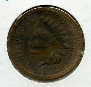 1903 P INDIAN HEAD CENT 1C PENNY PHILADELPHIA MINT MH531