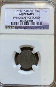 Click now to see the BUY IT NOW Price! 1873 CC DIME NGC AU DETAILS