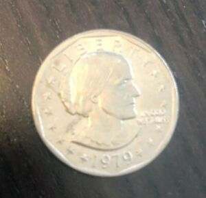 1979 D S P  SUSAN B ANTHONY LIBERTY ONE DOLLAR COIN