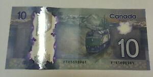 Click now to see the BUY IT NOW Price! CANADA $10 POLYMER BILL FRONTIER SERIES RADAR BANKNOTE