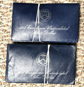 20   ROLL SPECIALLY MINTED S MINT MARK 1974 S 40  EISENHOWER IKE SILVER DOLLAR