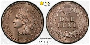 Click now to see the BUY IT NOW Price! 1860 1C PROOF INDIAN HEAD CENT PR 66 PCGS TOP POP  INCREDIBLY NICE