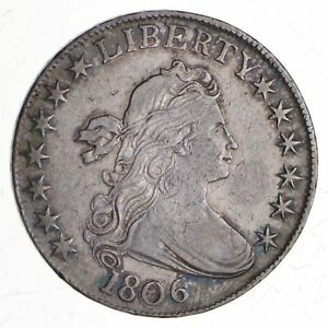 1806 DRAPED BUST HALF DOLLAR  4095