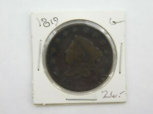1819 UNITED STATES CLASSIC HEAD LARGE CENT G  1329