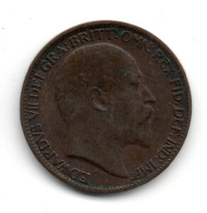 Click now to see the BUY IT NOW Price! 1903 FARTHING KING EDWARD VII GREAT BRITAIN COIN BRONZE GB SEATED BRITANNIA B1
