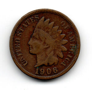 Click now to see the BUY IT NOW Price! 1906 USA INDIAN HEAD ONE CENT COIN A2