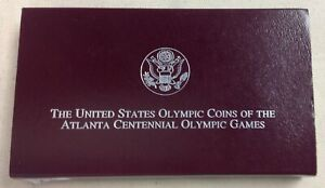 1995 U.S. MINT OLYMPIC BASEBALL COMMEMORATIVE HALF DOLLAR   PROOF