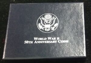 1993 U.S. MINT WWII 50TH ANNIVERSARY COMMEMORATIVE HALF DOLLAR   PROOF