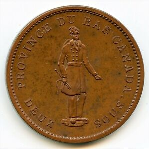 Click now to see the BUY IT NOW Price! BRETON 521 1837 BANQUE DU PEUPLE ONE PENNY TOKEN CH LC 9C1 PCGS PROOF 64