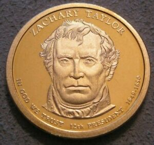 AS SHOWN   2009 S CAMEO PROOF ZACHARY TAYLOR PRESIDENTIAL DOLLAR // MC 221