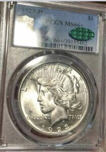 Click now to see the BUY IT NOW Price! 1923 D PEACE $1 PCGS MS 66  CAC