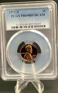 Click now to see the BUY IT NOW Price! 1971 S PCGS PR69RD DCAM SMALL CENTS LINCOIN MEMORIAL A MUST FOR A REGISTRY