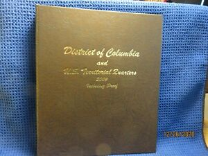 DISTRICT OF COLUMBIA & US TERITORIAL QUARTERS WITH PROOFS