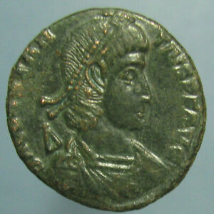 Click now to see the BUY IT NOW Price!  CONSTANTIUS II CENTENIONALIS WITH BEAUTIFUL GREEN PATINA