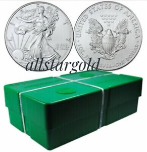 Click now to see the BUY IT NOW Price! 2013 SEALED MONSTER BOX OF 500 2013 1 OZ AMERICAN SILVER EAGLE