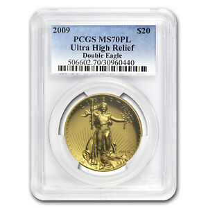 Click now to see the BUY IT NOW Price! 2009 ULTRA HIGH RELIEF GOLD DOUBLE EAGLE MS 70 PL PCGS   SKU 65313