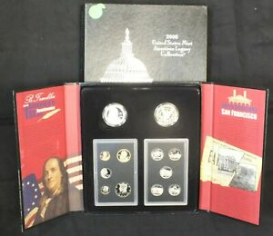 2006 UNITED STATES MINT AMERICAN LEGACY COLLECTION PROOF 12 COIN SET & COA MB708