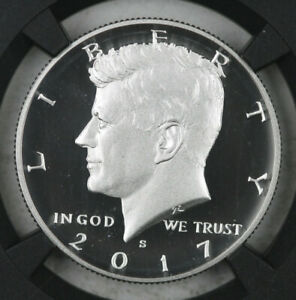 2017 S SILVER PROOF KENNEDY HALF DOLLAR NGC PF 69 ULTRA CAMEO LIMITED EDITION
