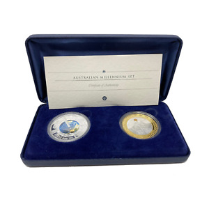 Click now to see the BUY IT NOW Price! 2001 PERTH MINT AUSTRALIAN MILLENNIUM SET
