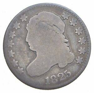 1825 CAPPED BUST DIME  0218