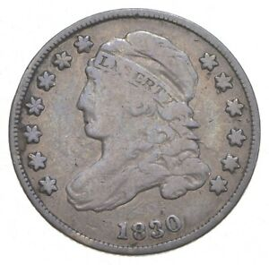 1830 CAPPED BUST DIME  0210