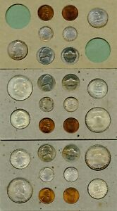 Click now to see the BUY IT NOW Price! 1948 US DOUBLE MINT SET | ALL GEM BU  W/ TONING