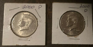 C09 2000 P AND D KENNEDY HALF DOLLAR COIN US MINT SET