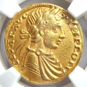 Click now to see the BUY IT NOW Price! 1231 1250 GOLD AUGUSTALE COIN OF EMPEROR FREDERICK II NGC AU DETAILS TEST CUT RR