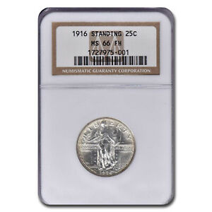 Click now to see the BUY IT NOW Price! 1916 STANDING LIBERTY QUARTER MS 66 NGC  FH    SKU213725