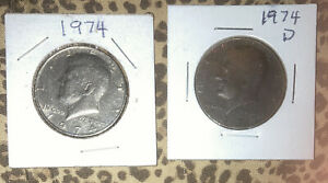1974 P AND D KENNEDY HALF SET