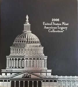 Click now to see the BUY IT NOW Price! 2006 US MINT  AMERICAN LEGACY PROOF SET  5S1  SOLD OUT