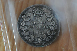 Click now to see the BUY IT NOW Price! 1934 CANADA TEN CENTS   ICCS MS 64