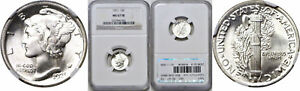 Click now to see the BUY IT NOW Price! 1921 MERCURY DIME NGC MS 67 FB