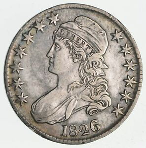 1826 CAPPED BUST HALF DOLLAR  CIRCULATED  2305
