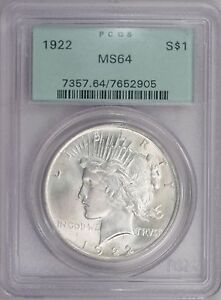 Click now to see the BUY IT NOW Price! 1922 P  PCGS MS64  PEACE DOLLAR