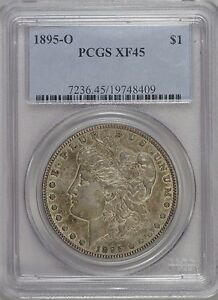 Click now to see the BUY IT NOW Price! 1895 O  PCGS  XF45  PROBLEM FREE BETTER DATE LOW MINTAGE
