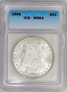 Click now to see the BUY IT NOW Price! 1889 P  ICG MS64  MORGAN DOLLAR   VAM 19B1