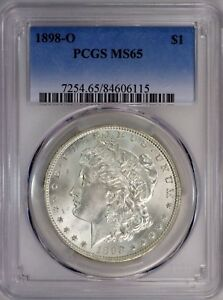 Click now to see the BUY IT NOW Price! 1898 O   PCGS  MS65    BEAUTIFUL