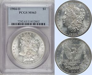 Click now to see the BUY IT NOW Price! 1904 O   PCGS  MS63
