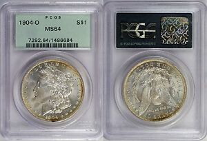 Click now to see the BUY IT NOW Price! 1904 O   PCGS  MS 64