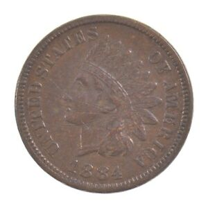 1884 INDIAN HEAD ONE CENT  Z58