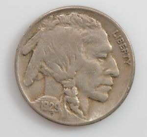 1929 S BUFFALO/INDIAN HEAD NICKEL  G79