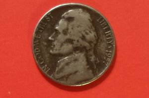 1957D JEFFERSON NICKEL